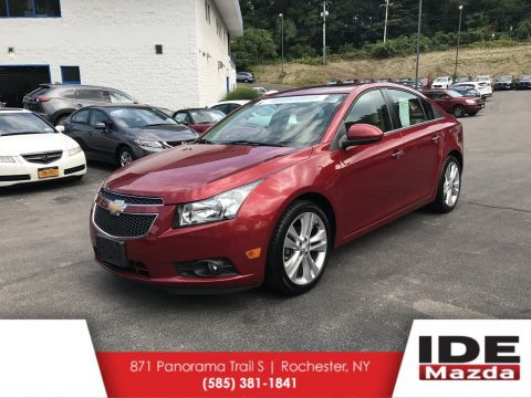 Pre-Owned 2013 Chevrolet Cruze LTZ FWD 4dr Car