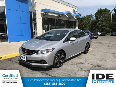 Certified Pre-Owned 2014 Honda Civic Sedan Si FWD 4dr Car