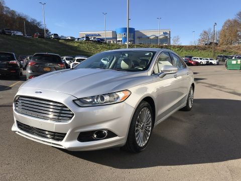Certified Pre-Owned 2015 Ford Fusion Titanium FWD 4dr Car