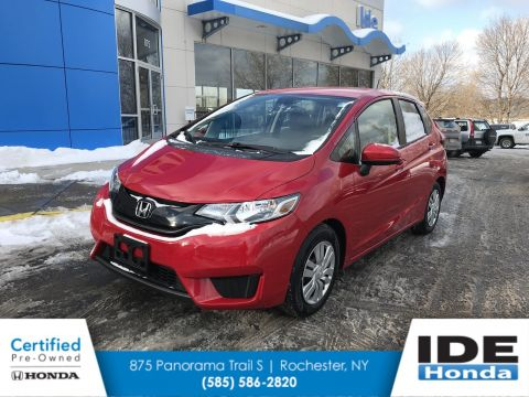 Certified Pre-Owned 2015 Honda Fit LX FWD Hatchback