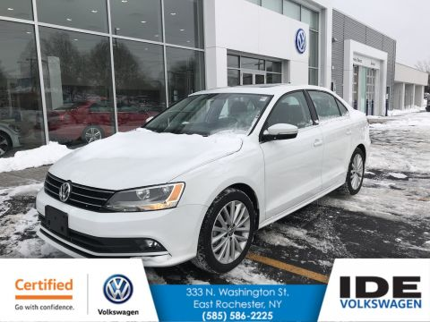 Certified Pre-Owned 2015 Volkswagen Jetta Sedan 1.8T SE w/Connectivity/Navigation With Navigation