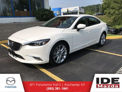 Certified Pre-Owned 2017 Mazda6 Touring With Navigation