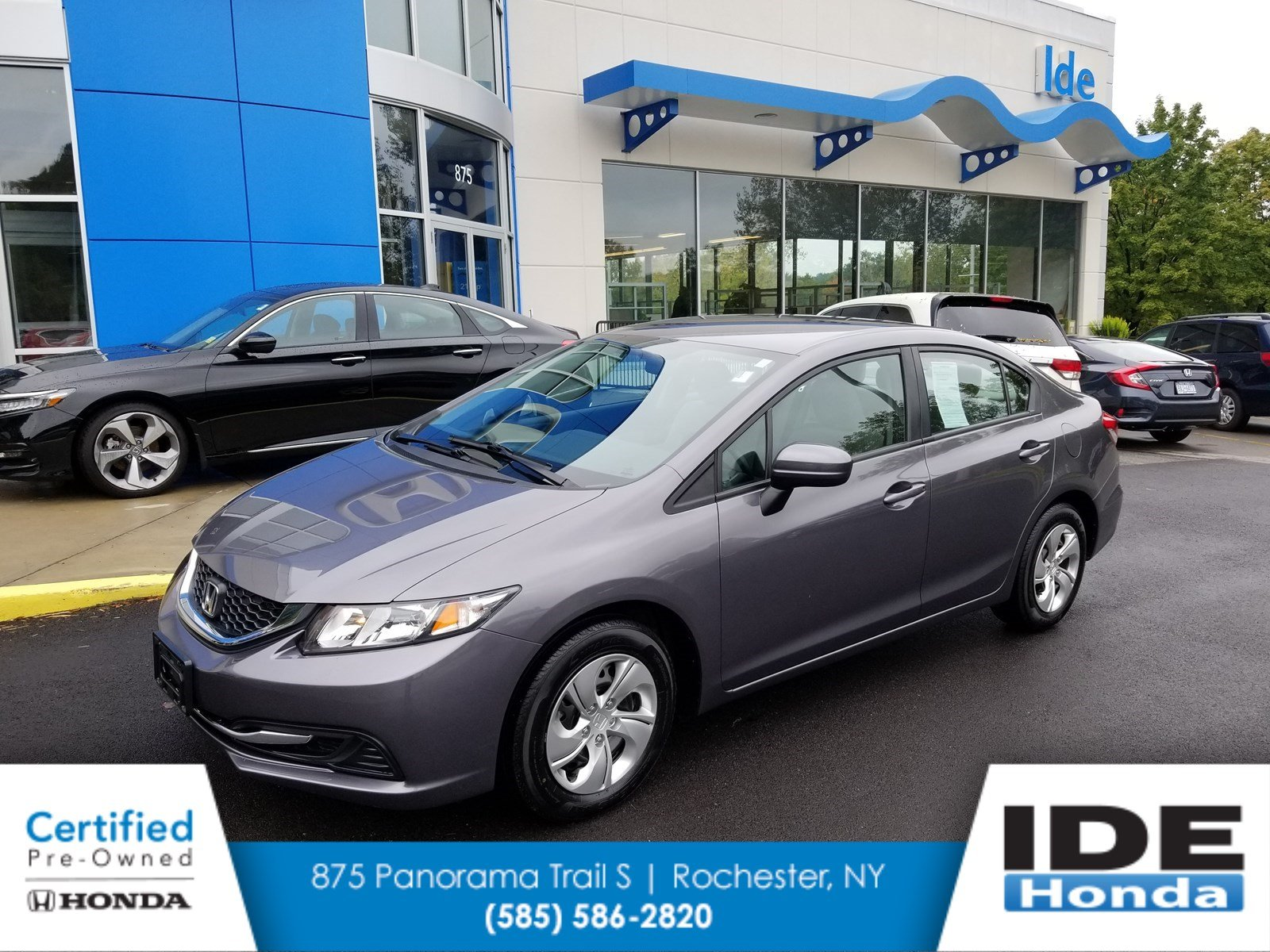Exceptional Certified Pre Owned 2015 Honda Civic Sedan LX