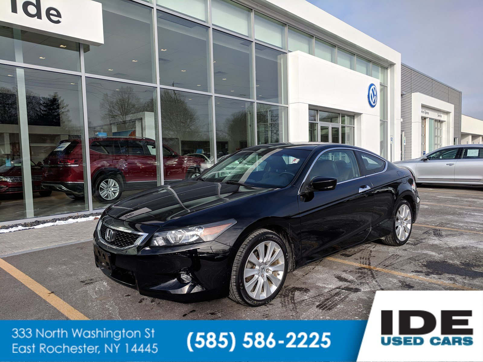 Pre-Owned 2010 Honda Accord Coupe EX-L