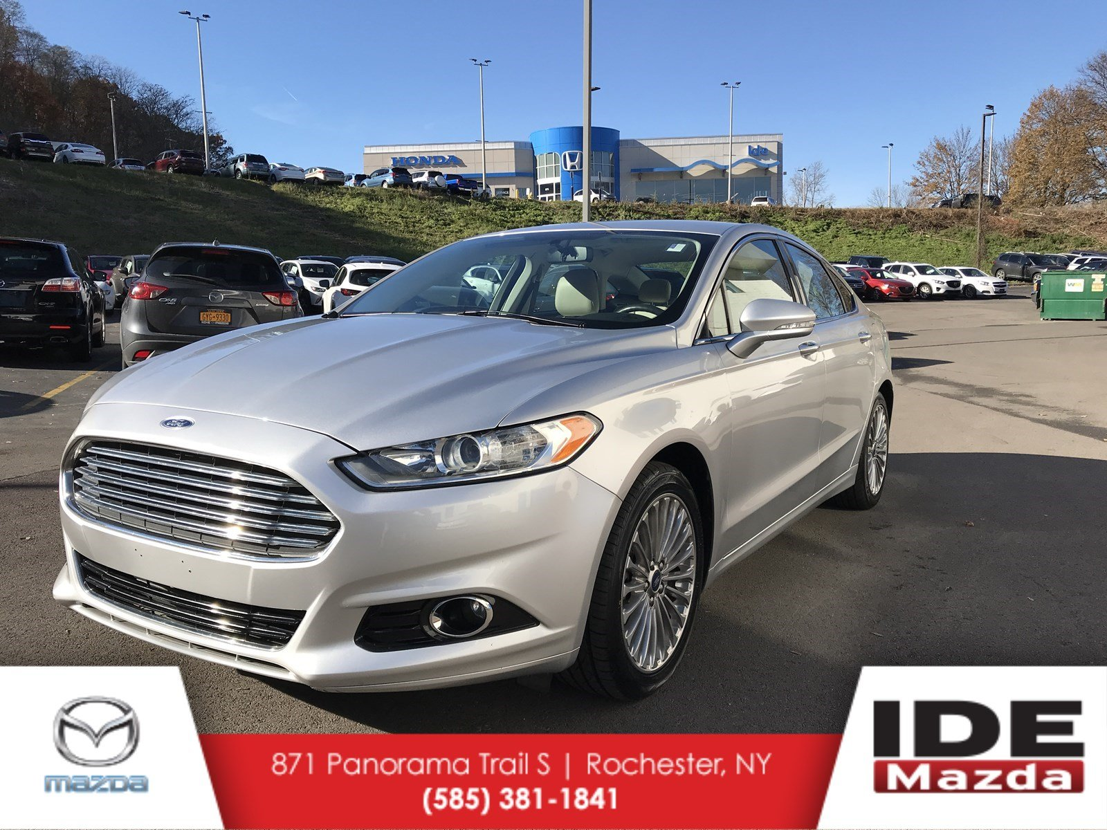 fusion penske auto detail titanium sedan ford used fwd hybrid at