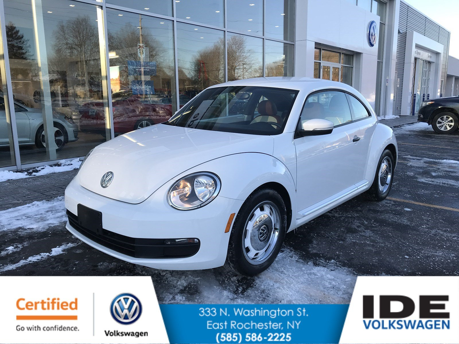Certified Pre-Owned 2015 Volkswagen Beetle Coupe 1.8T Classic