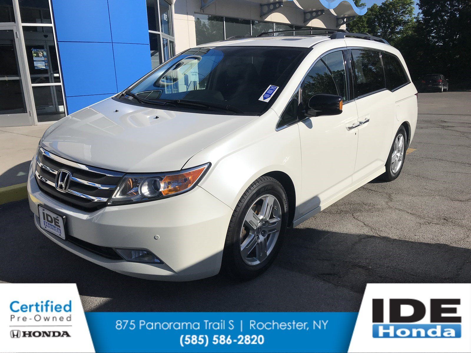 Certified Pre Owned 2012 Honda Odyssey Touring