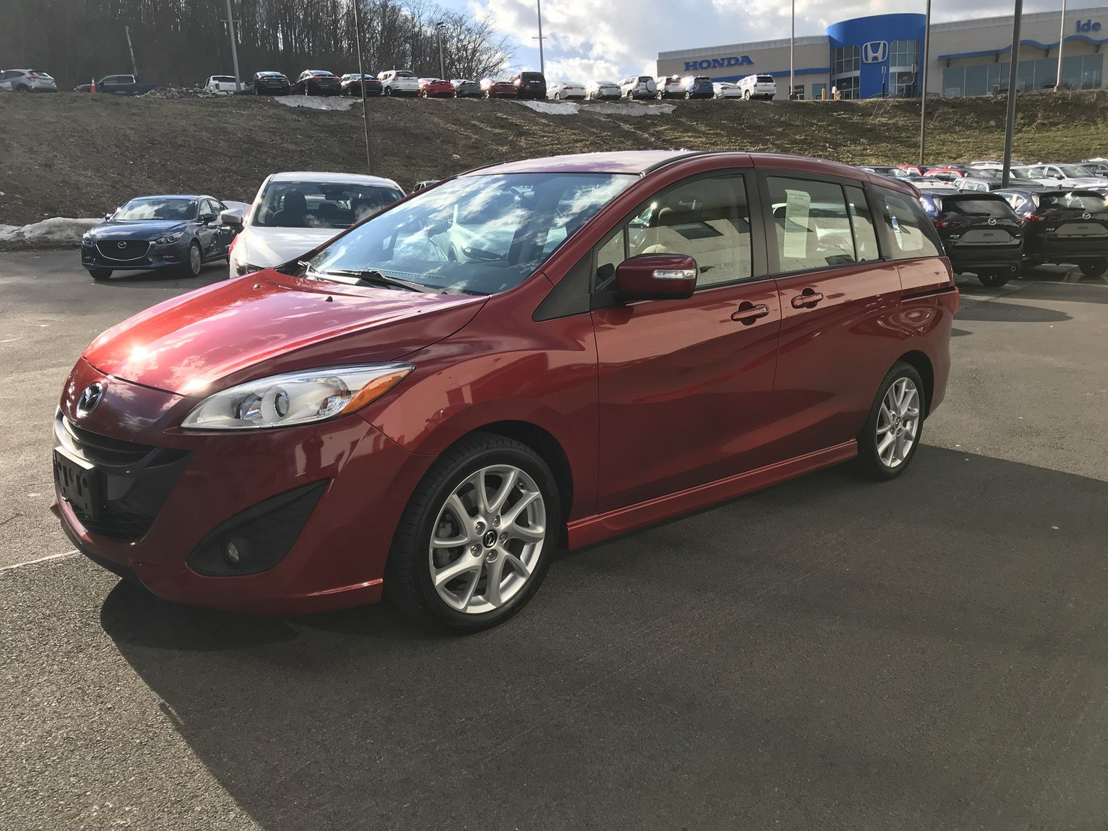 Certified Pre-Owned 2013 Mazda5 Touring