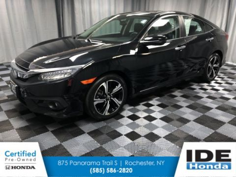 Certified Pre-Owned 2016 Honda Civic Sedan Touring
