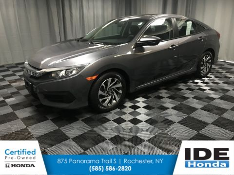 Certified Pre-Owned 2016 Honda Civic Sedan EX