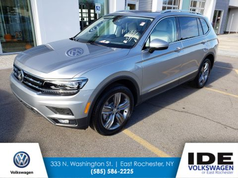 New 2019 Volkswagen Tiguan SEL Premium With Navigation & AWD