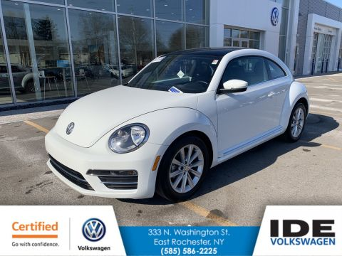 Certified Pre-Owned 2019 Volkswagen Beetle SE FWD Hatchback