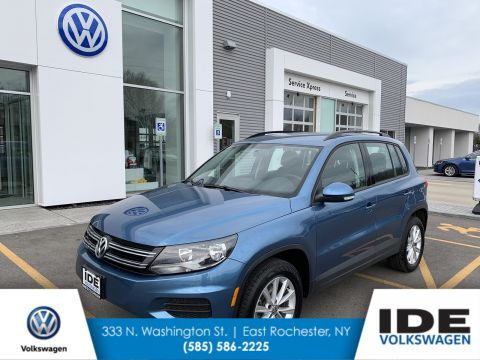 Pre-Owned 2018 Volkswagen Tiguan Limited