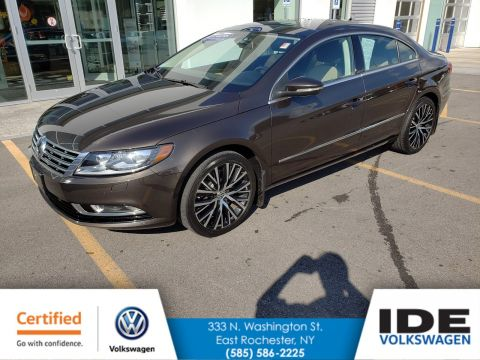 Certified Pre-Owned 2014 Volkswagen CC VR6 Executive 4Motion With Navigation & AWD